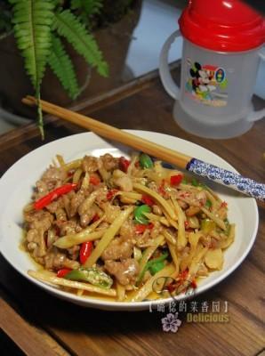 川式下饭菜姜丝鸭