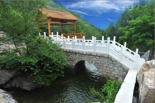 河北保定虎山风景区(图)
