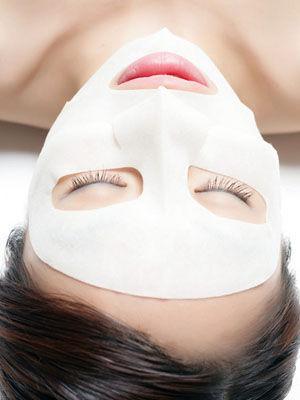 保湿面膜修复肌肤