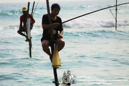 斯里兰卡渔民