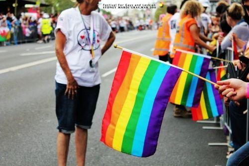 彩虹同性恋的标志