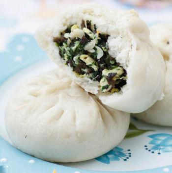 木耳青菜虾皮包