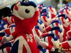 时尚的伦敦奥运纪念品