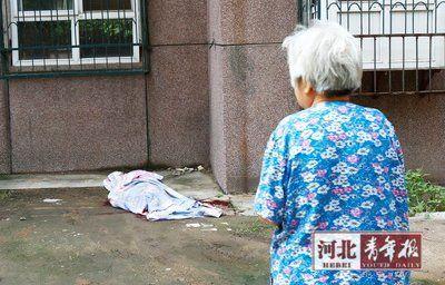 86岁老人因思念刚过世老伴跳楼轻生(图)_新浪