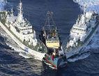 香港保钓人士钓鱼岛被扣