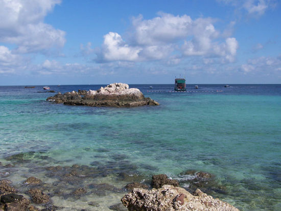 唐山乐亭三岛 找个蓝色港湾去发呆