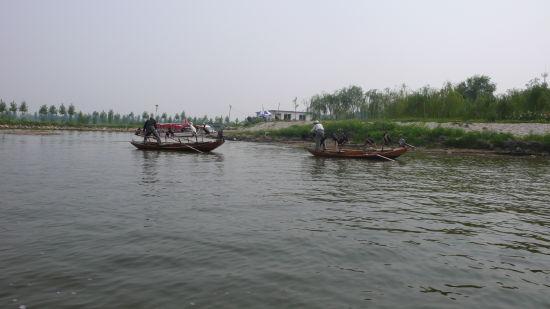 新浪河北旅游配图:渔船