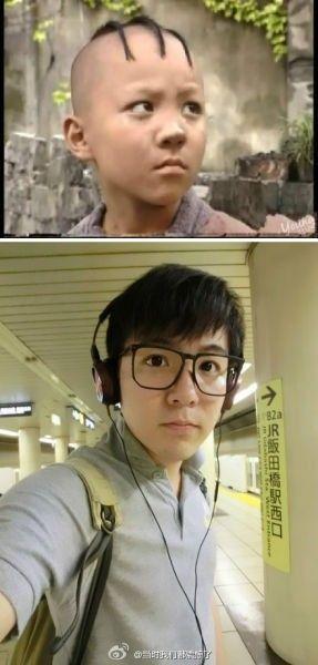 """""""三毛""""孟志超25岁帅气生活照曝光 男大18变"""