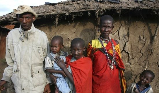 马赛部落非洲最为外界所熟知的部落