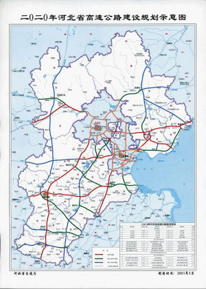 秦皇岛,北京旅游金三角的形态勾画完成,也将使我省高速公路通车里程