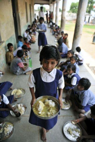 各国学校免费午餐对比