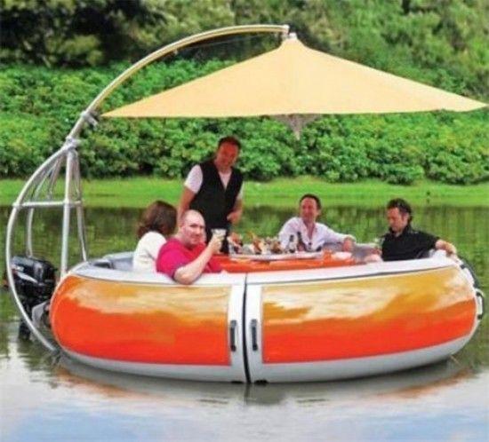 水上烧烤船,价格5万美元