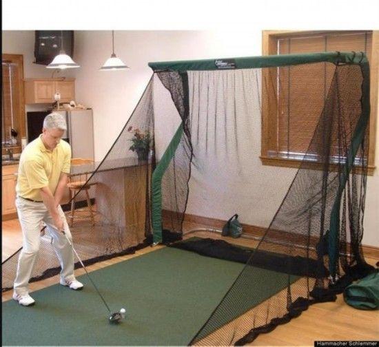 室内简易高尔夫球场,800美元