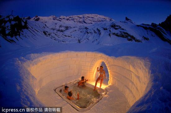 爱斯基摩人冰雪世界的生活