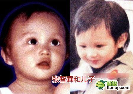 张智霖和袁咏仪的儿子魔童,2006年出生