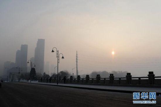 北方多地大幅降温细赏冬日北国风情