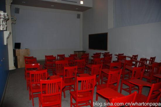 教室内部(图片来源:陈伟)