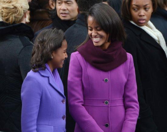 """美国""""第一女儿""""白宫成长记"""