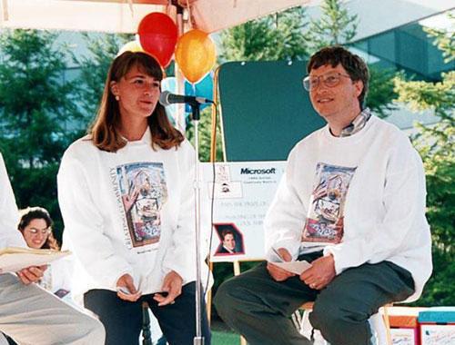比尔・盖茨与妻子梅琳达・盖茨