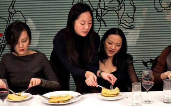 中国新贵的西式礼仪课