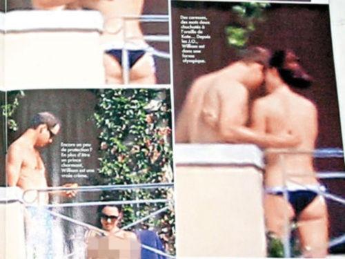 意大利杂志偷拍凯特王妃怀孕比基尼照惹恼英王室