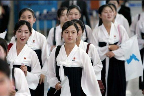 朝鲜最迷人国宝级校花