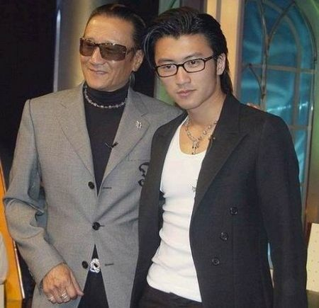 谢霆锋和父亲