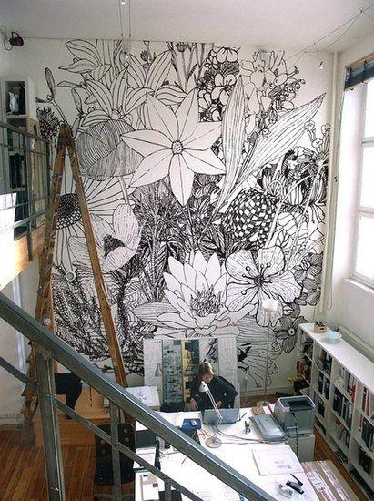艺术生的工作室 清新文艺风格迥然