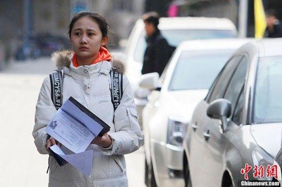 北影2013报名现场俊男美女云集