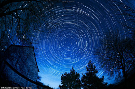 实拍国际黑暗天空保护区壮美星空(图)