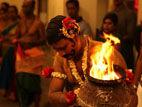 印度庙的拜火仪式