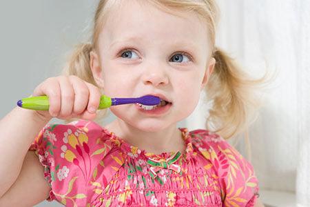 岁儿童牙齿生长