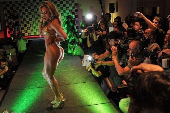 让男人血脉喷张的巴西美臀小姐比赛