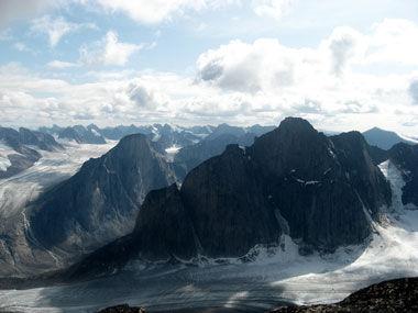 世界上最陡峭的山峰
