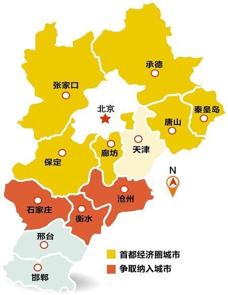 天津机场到衡水地图