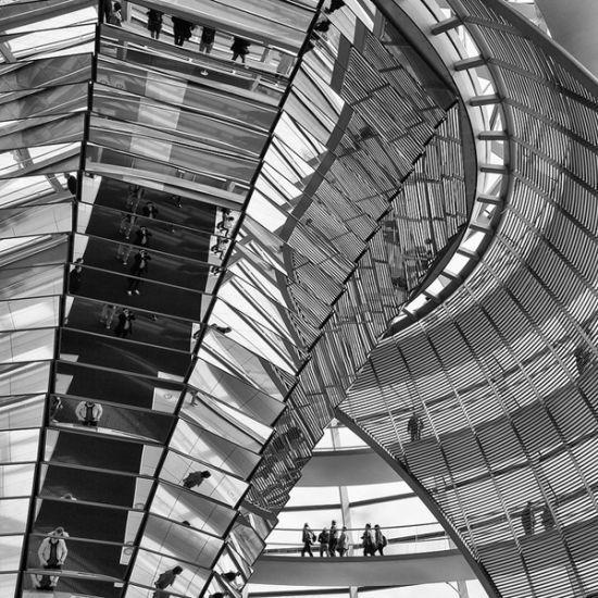 德国柏林的国会大厦