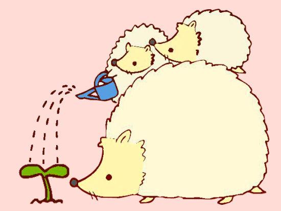 可爱卡通动图_免费可爱卡通动图图片下载; 不正确家庭教育观 树大自然