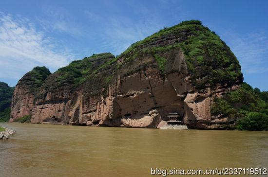 江西龙虎山千古悬棺 崖墓文化影响东南亚