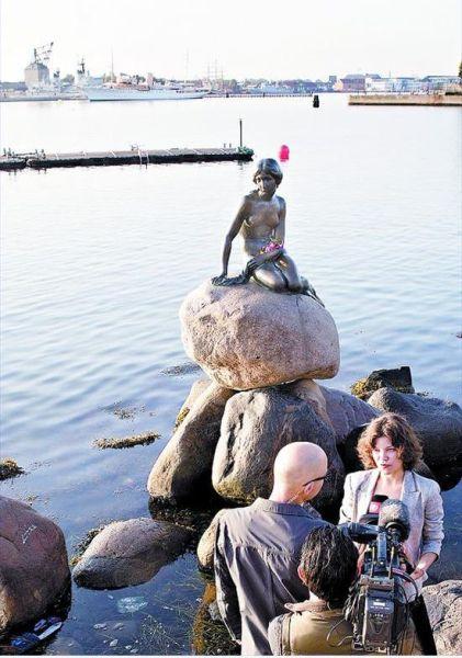 丹麥小美人魚迎來100歲生日(圖)