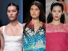 中国超模再战纽约时装周闪耀T台气势逼人