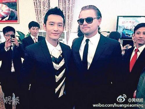 好萊塢巨星聚集青島黃曉明萊昂納多比帥
