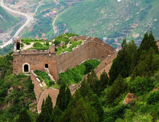 白羊峪旅游区位于河北省唐山市迁安市