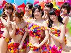 一大波萌妹来袭AKB48男人装封面大片