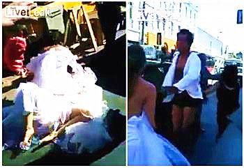 两新娘互殴争新郎