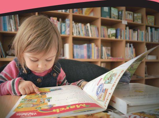 准锁定儿童阅读刊物