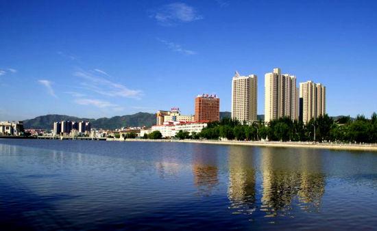 张家口-清河畔美景