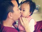 贾乃亮与女儿私照曝光帅爸萌娃超有爱