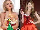2013明星圣诞装大PK性感甜美你爱WHO