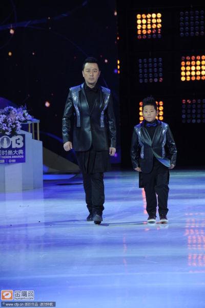中國時尚大典郭濤石頭首登T臺走秀變身型男