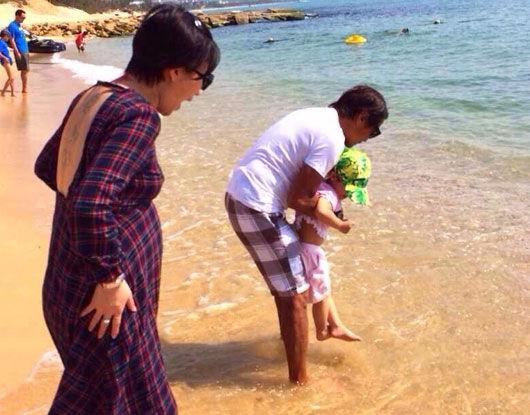 齊秦嬌妻孫麗雅再懷孕54歲齊秦又將當爹